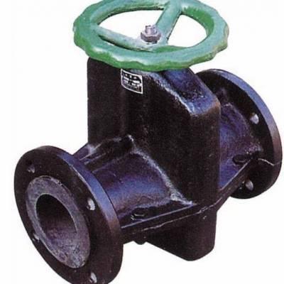 管夹阀-抗腐蚀、抗磨损和强承压能力,直通法兰连接