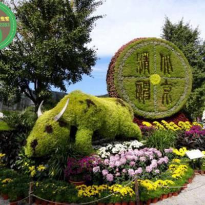 萍乡人物动物绿雕制作哪家好_绿雕厂家_铭泽工艺