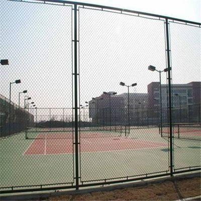 球场护栏网 运动场围栏网 包塑勾花网