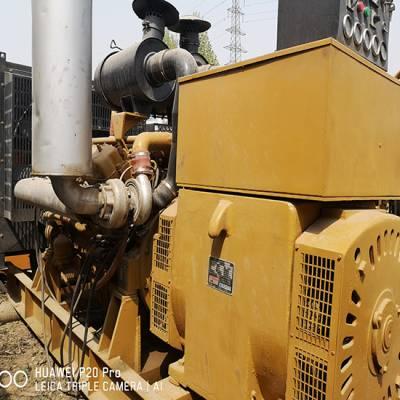 上柴原装机器五百千瓦二手柴油发电机组九成新质量好