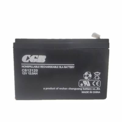 武汉长光蓄电池 直流屏CGB蓄电池12V40AH 高低压配电柜UPS电源蓄电池 全新