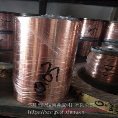 进口铍铜箔C17300高弹性铍钴铜箔铍铜垫片