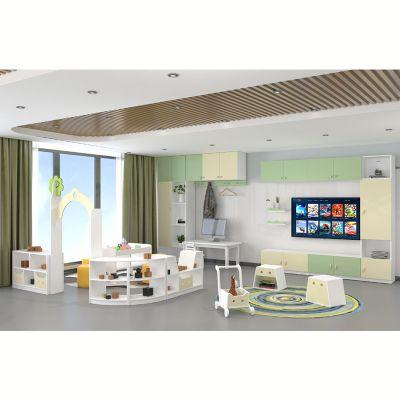 幼儿园家具_互动组合柜_儿童教具柜_玩具柜-绿森堡厂家直销