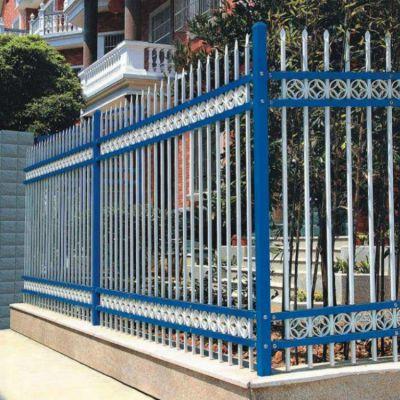 围墙护栏@锌钢围墙护栏@小区别墅围墙护栏