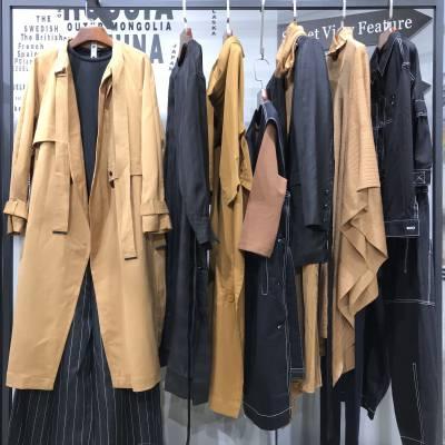 广州白云尾货服装批发市场 痕迹折扣女装尾单批发货源 大码女装