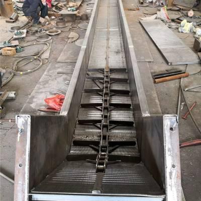 FU型链式刮板输送机视频 单排模锻链埋刮板输送机
