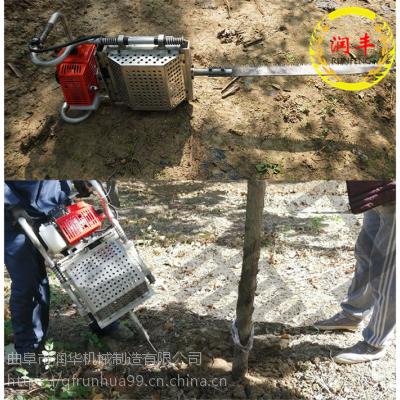 德国技术链条挖树机 花圃移栽苗木起树机 快速起土球移树机