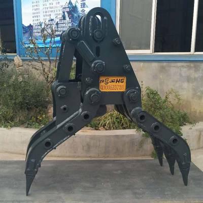 挖掘机抓钢器-鸿工机械厂-挖掘机抓钢器加工
