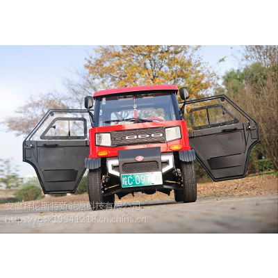 宝岛新能源电动汽车 成人电动四轮车两座小轿车