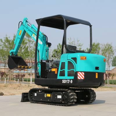 热销多功能管道挖掘小型挖掘机价格 市政工程破碎小挖掘机