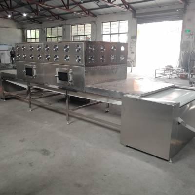 武汉大型五谷杂粮微波熟化机 黄豆微波熟化机 高效节能