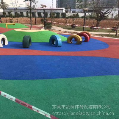 全国发货 健身房力量区弹性地垫 颜色可定制橡胶地垫