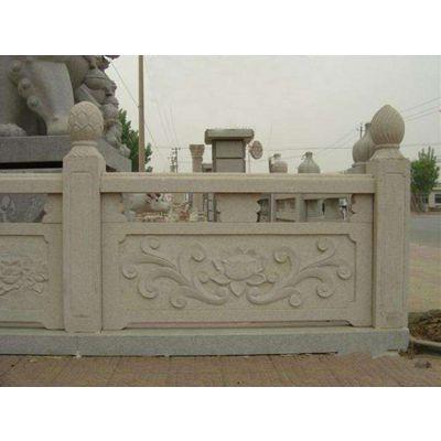 石雕栏杆制作工艺以及安装介绍