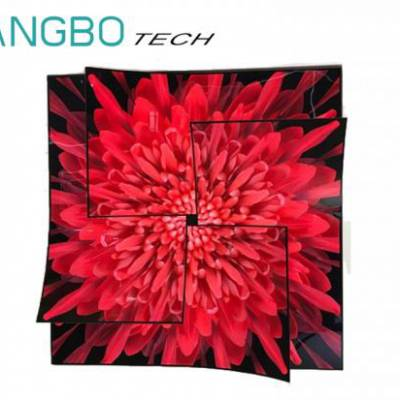 OLED显示屏,55寸柔性拼接屏,超薄有机自发光拼接屏