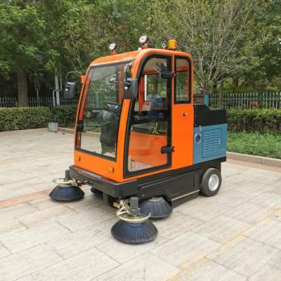 电动清扫车包邮 新款 电动扫路车 学校环卫电动扫路车 皓宇 小型电动扫地车