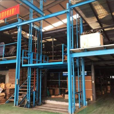 阜阳SJD系列链条导轨式升降机 导轨链条式升降机 仓库简易货梯 工厂直销