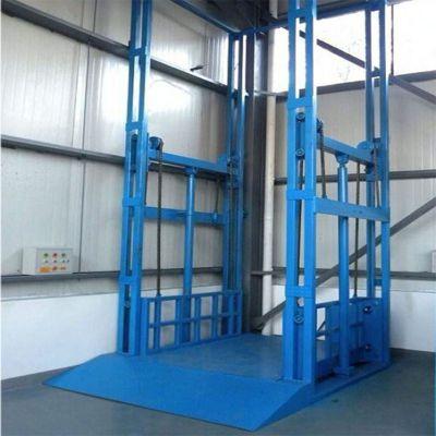 彭州市导轨式液压货梯 2吨3吨5吨厂房升降平台 液压电梯定制款