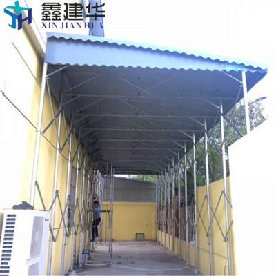 襄樊襄城移动式雨篷防尘伸缩棚带摇控品质有保证