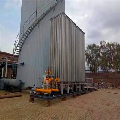 宁夏固原淀粉厂LNG汽化调压计量撬装设备ZH-Q011