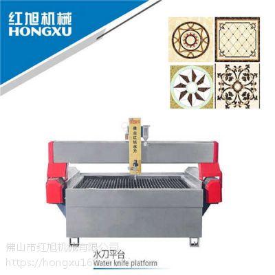 数控AC五轴1-45度斜度 水刀切割加工 超高压 水切割机
