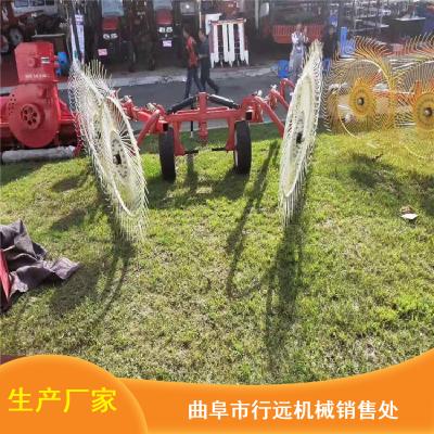 十二盘圆形搂草机_大型悬挂式搂草机_行远拖拉机搂草机供应
