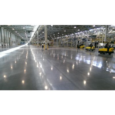 宝伯力地坪光亮剂 固化地坪 锂基型硬化剂地坪抛光剂