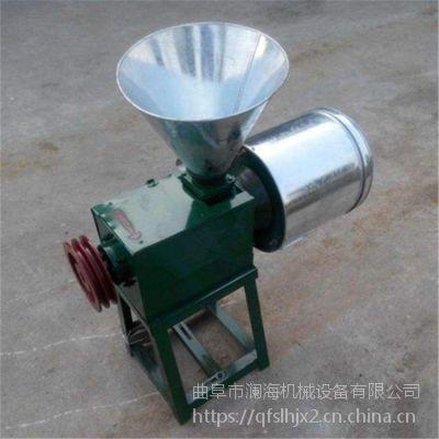澜海牌 小麦原味面粉机 家用小型电动磨面机 豆面机