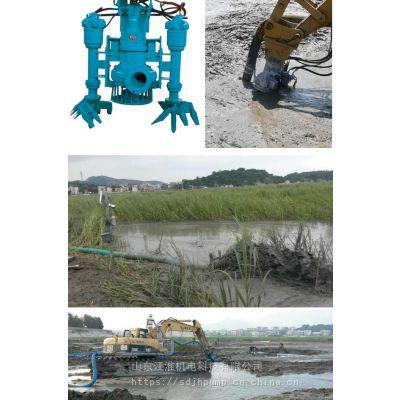 大型船用液压绞吸采砂泵 环保治理专用勾机泥浆泵名品汇 江淮泵业