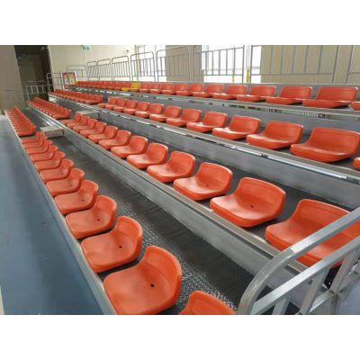 阻燃布艺看台座椅 低靠背看台座椅 电动手动伸缩看台座椅 全国可上门安装