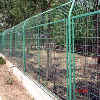 高速公路围墙网 小区护栏 绿色围网厂家