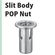 POP平头铆螺母SPH670SPLIT