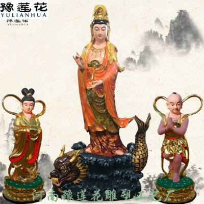 广东贴金地藏王菩萨神像厂家报价