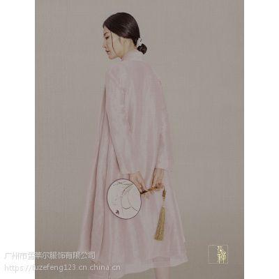深圳品牌女装折扣花禅中国风原创设计师走份货源批发一手货源