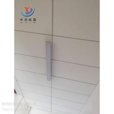 吸音板材防塌陷吊顶 防潮玻纤吸音板 厂家大量生产