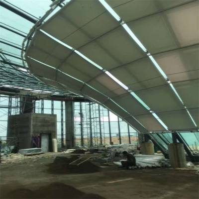 FTS顶棚遮阳 商场装修 上海舒朗值得信赖