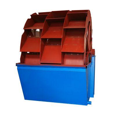 石城柏立松轮斗洗砂机厂家 可定制单双轮 一二三槽加厚叶轮洗砂机
