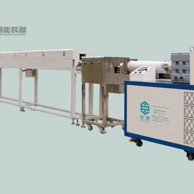 臣泽单色卧式硅胶挤出生产线 引流管挤出设备