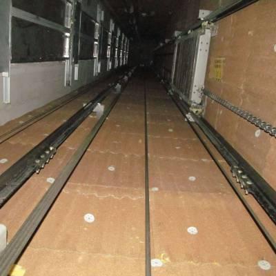 电梯井吸音板芯材为黄色玻璃棉纤维