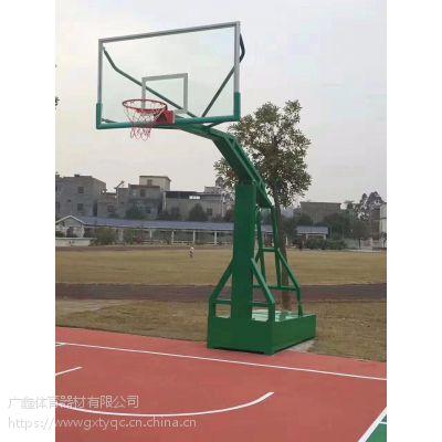 生产直销平箱式仿液压、平箱移动式篮球架、户外或校区适用型篮球架