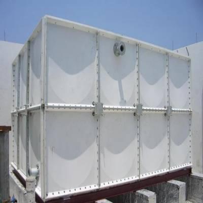 大庆高温玻璃钢水箱-玻璃钢组合水箱厂家定做供货新闻 地埋式消防水箱30吨保温水箱