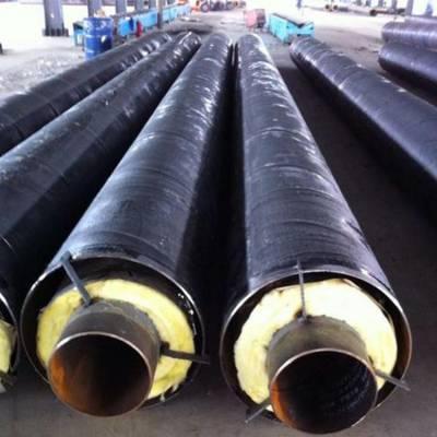 蒸汽管道输送 直埋保温管外径 钢套直埋保温管厂家