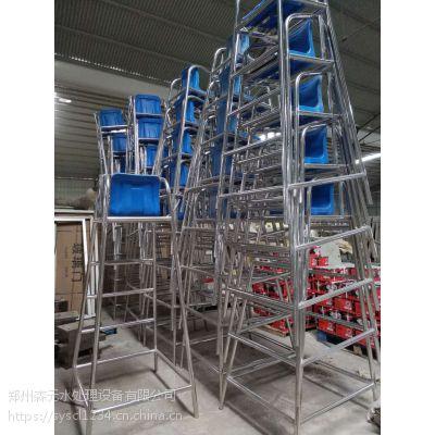 厂家定做泳池专用救生椅1.9米加厚救生椅子