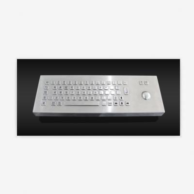 台式防水防暴防撬金属不锈钢键盘PC和小数字类型