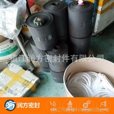 填充碳纤维 石墨 黑色聚四氟乙烯PTFE薄膜 可以定向跟半定向制作