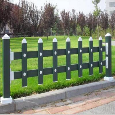 遂平 PVC社区围栏 PVC草坪护栏 草坪塑钢防护栏 安装方便 坚固耐用