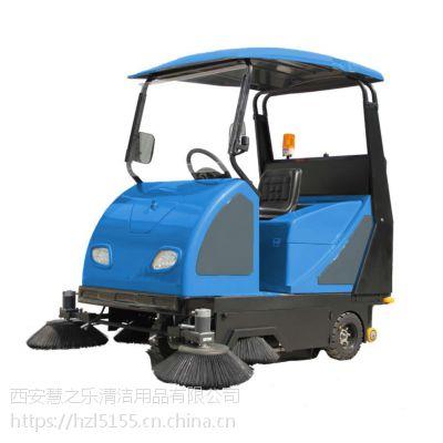 延安菜市场用清扫菜叶灰尘用驾驶式电动扫地车XZJ-1800 迅之洁扫地车价格