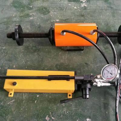 电动液压式钢丝绳压套机 数控钢丝绳锁套机 挖掘机压链压套一体机