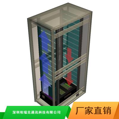 微数据中心机房四联柜市场价格_交通一体化智能服务器机柜