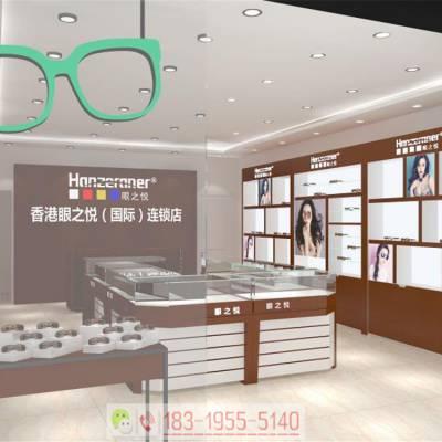 伊春精品木质太阳眼镜货架/眼镜店展柜哪里有做厂家