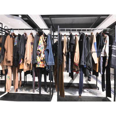个性品牌女装折扣店蜜喜夏装裤裙广州服装批发市场多种风格新款组货包